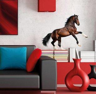 Muursticker Paard (bruin)