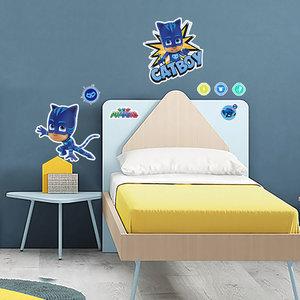 Muursticker PJ Masks Pyjamahelden Catboy