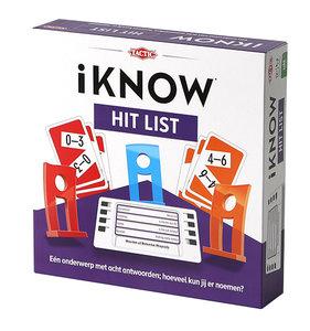 iKNOW Hit List - Gezelschapsspel - Tactic
