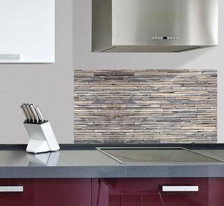 Keuken Achterwand Sticker Stenen XL - 1 meter breed