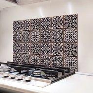 Azulejos Keukenwand Sticker (zwart)