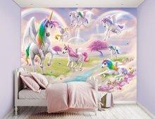 Unicorn behang